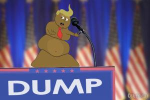 tronald dump animation
