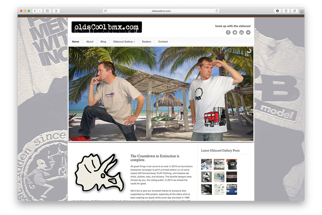 oldscool bmx website