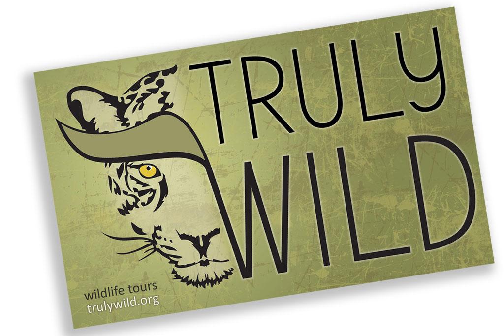truly wild logo design