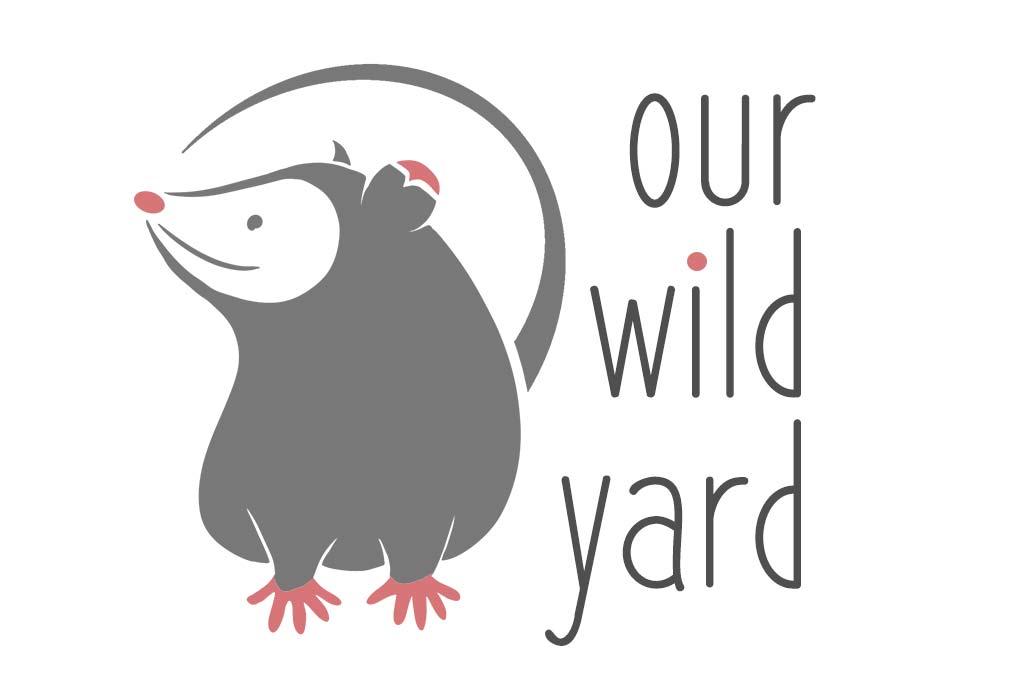Our Wild Yard opossum logo